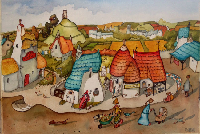 glastonbury painting