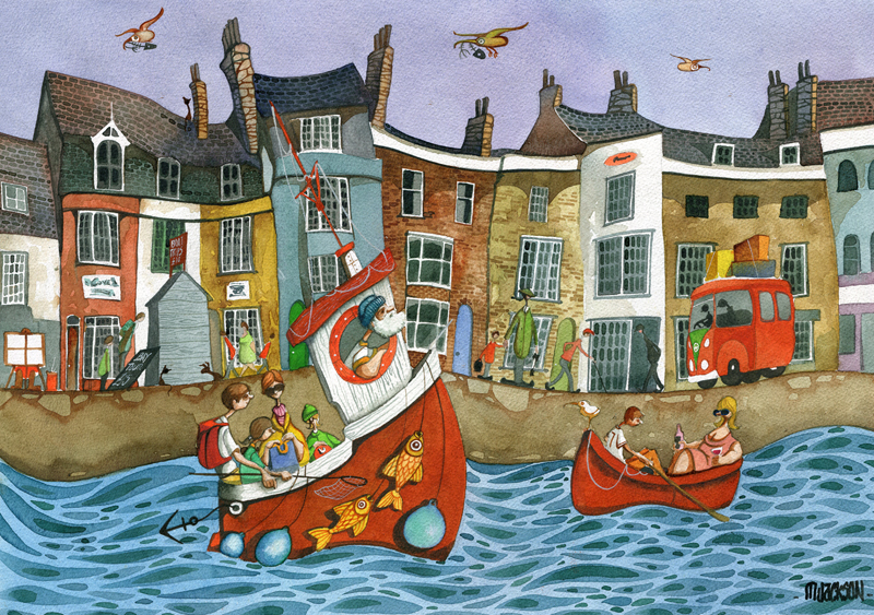 boat ride at weymouth in Dorset